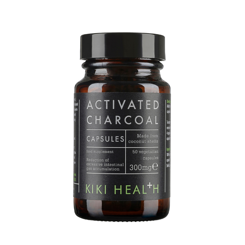 Kiki Health Activated Charcoal Vegicaps Kiki Health