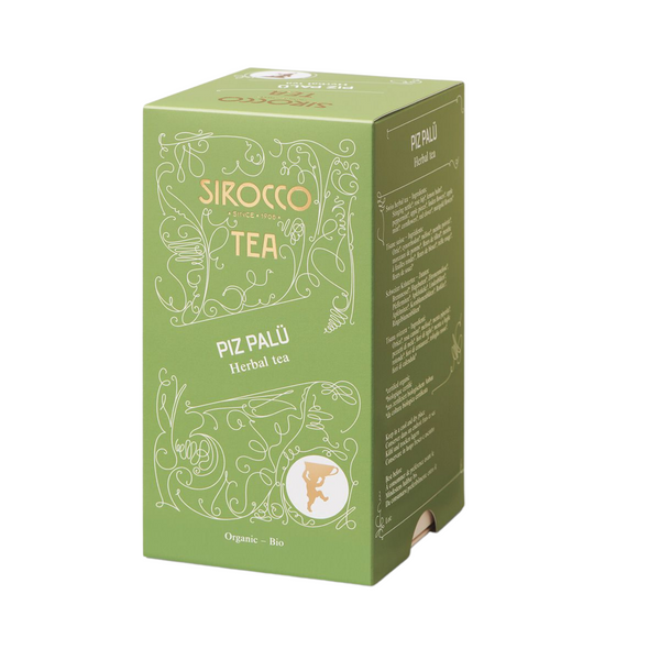 Sirocco Tea PIZ PALÜ - SWISS HERBAL TEA Sirocco