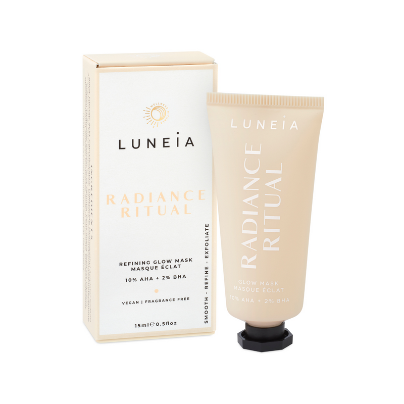 Luneia Mini Radiance Ritual Resurfacing Treatment Mask Luneia