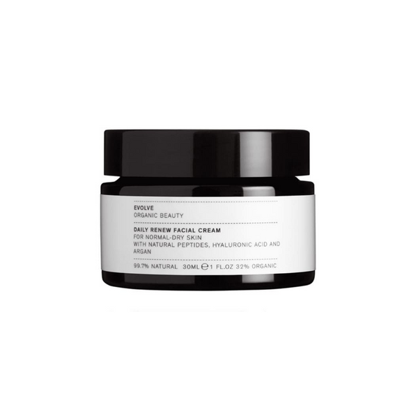 Evolve Beauty MINI DAILY RENEW FACIAL CREAM - HYDRATE, SOOTHE & ANTI-AGEING Minis