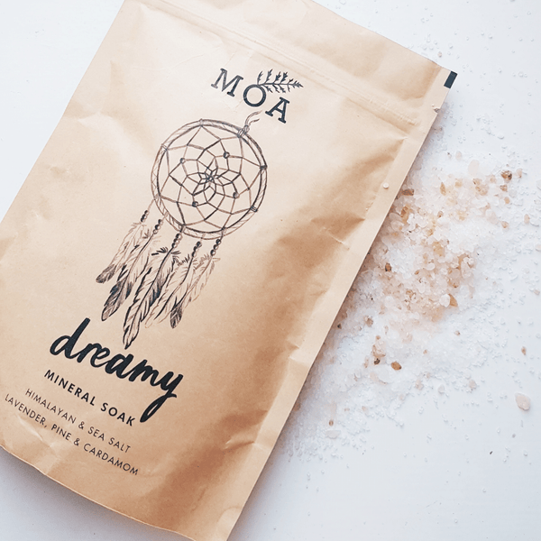 MINI DREAMY MINERAL SOAK - CLEANSING & PURIFYING SEA SALTS