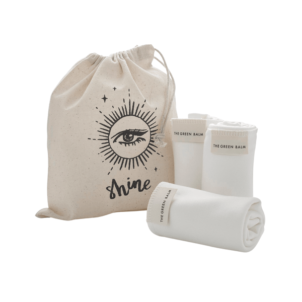 Magic Organic Apothecary BAMBOO FACE CLOTH TRIO Skincare