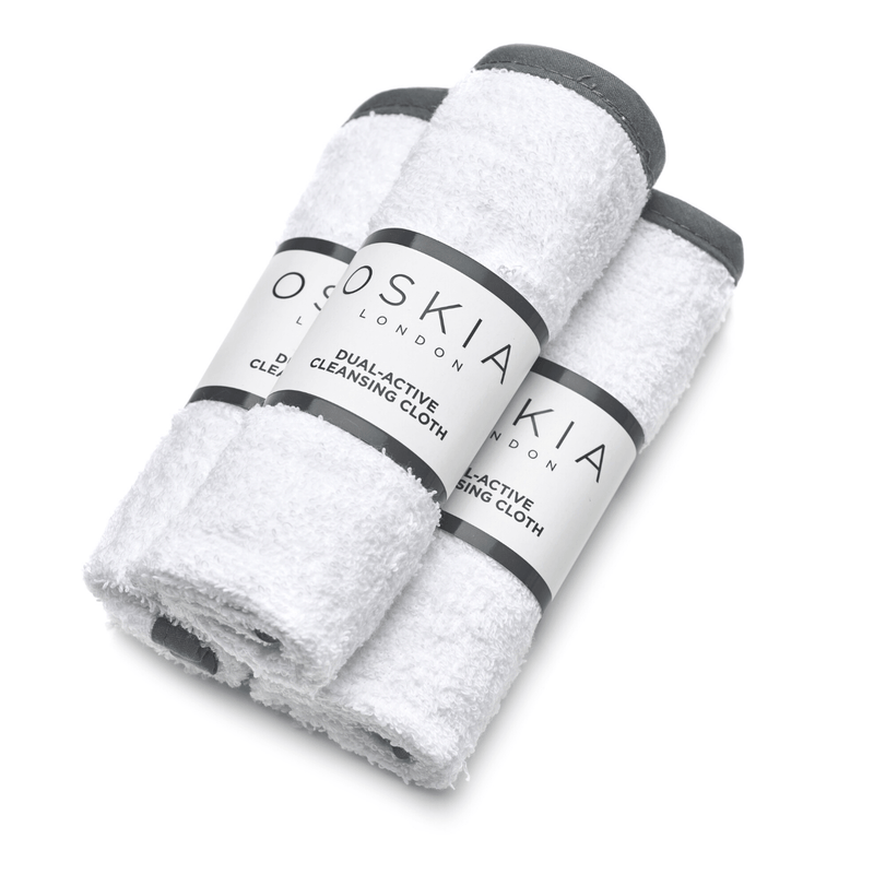 DUAL-ACTIVE CLEANSING CLOTH - 100% COTTON