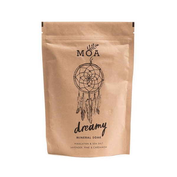 Magic Organic Apothecary DREAMY MINERAL SOAK - CLEANSING & PURIFYING SEA SALTS Bath & Body