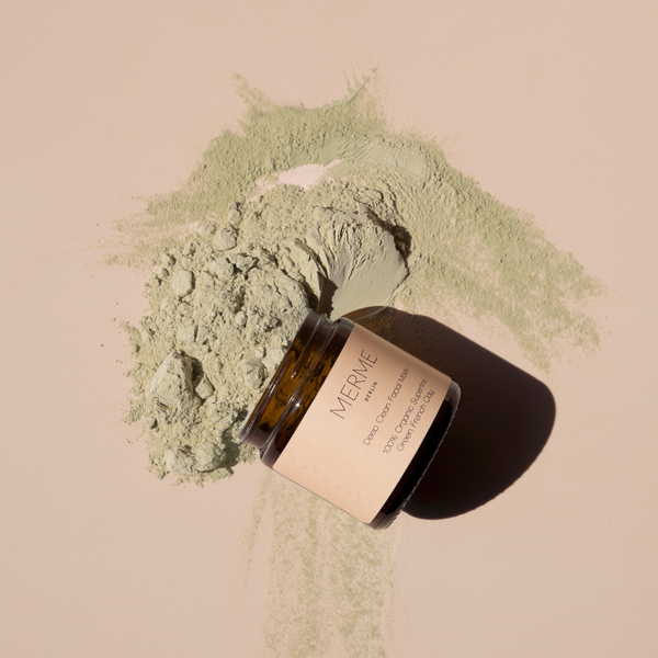 Merme DEEP CLEAN FACIAL MASK - 100% ORGANIC GREEN CLAY Merme Berlin