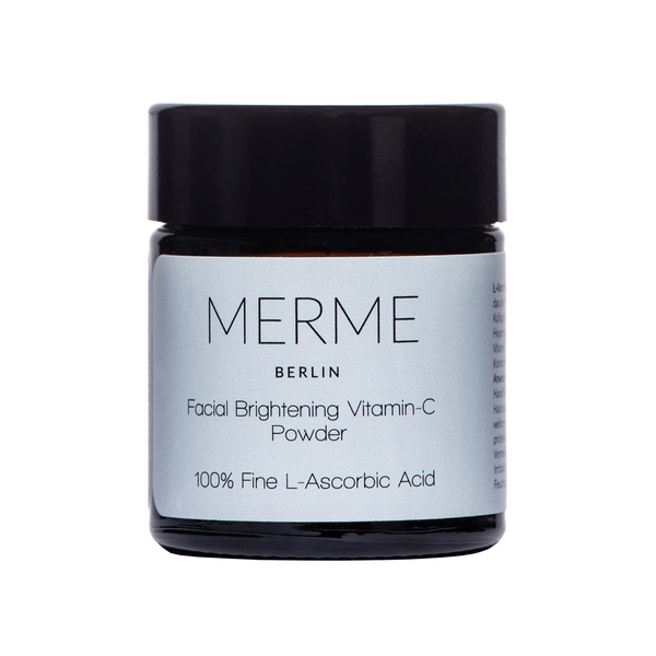 Merme Facial Brightening Vitamin C Powder - 100% L-Asorbic Acid Merme Berlin
