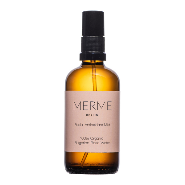 Merme FACIAL ANTIOXIDANT MIST - 100% ORGANIC ROSE WATER Merme Berlin