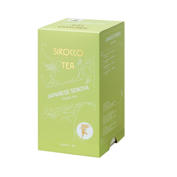 Sirocco Tea JAPANESE SENCHA - HERBAL TEA Sirocco