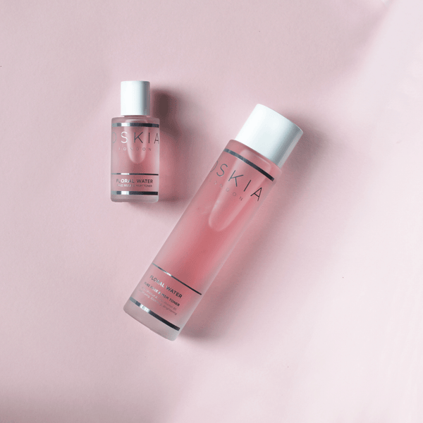 MINI FLORAL WATER - PURE ROSE & MSM TONER