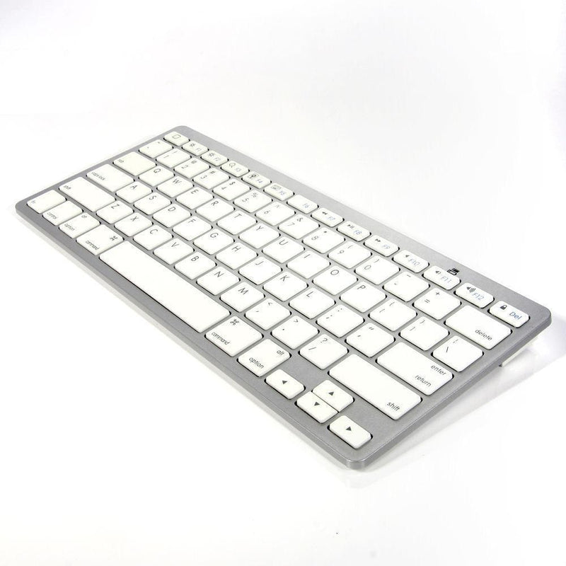 Ultra Slim Wireless Bluetooth Keyboard For Imac, iPad, iPhone, Macbook Pro and Air - amazon-2u (4169672097907)