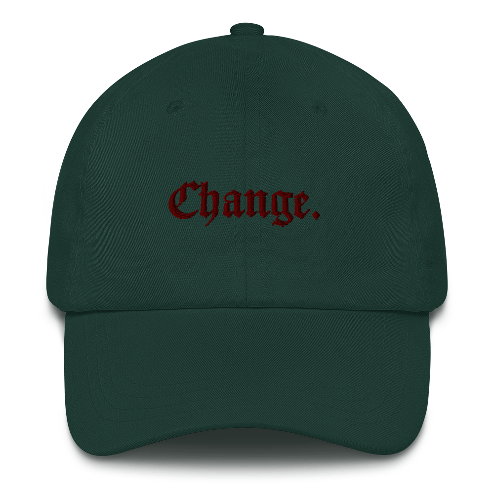 "Counterculture ""Change"" Dad Hat"
