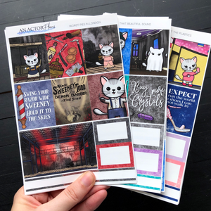 Planner weekly sticker kits collection