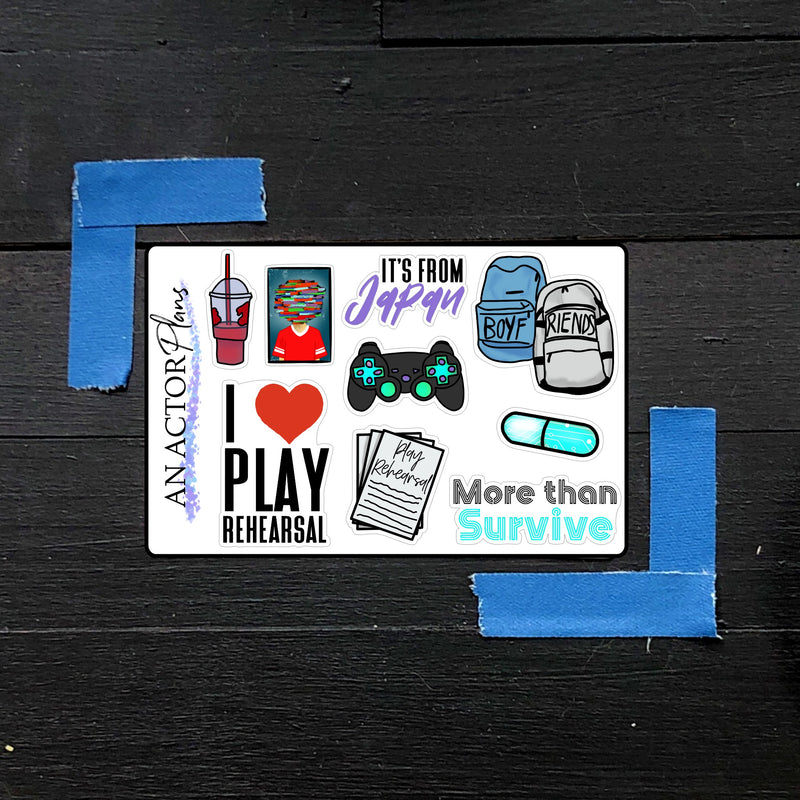 Two Player Game// Mini Sheet