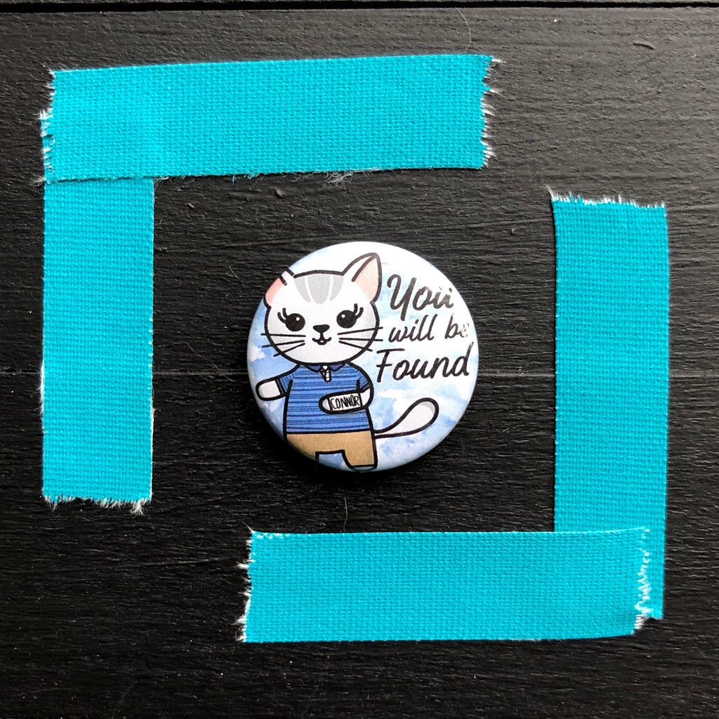 Dear Mabel Hansen // Pin Back Button