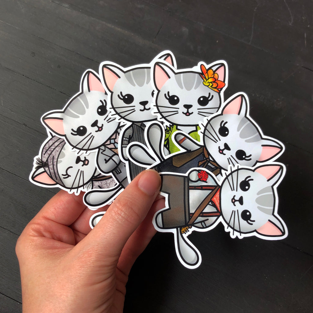Mabeltown // Mabel // Die Cut Sticker Pack