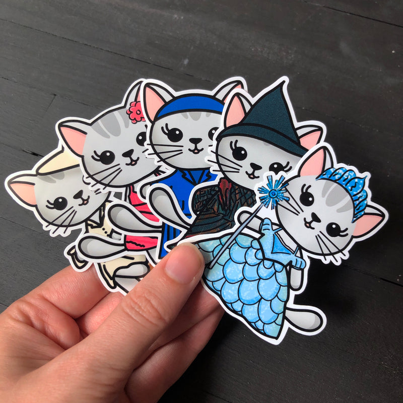 Licked // Mabel // Die Cut Sticker Pack