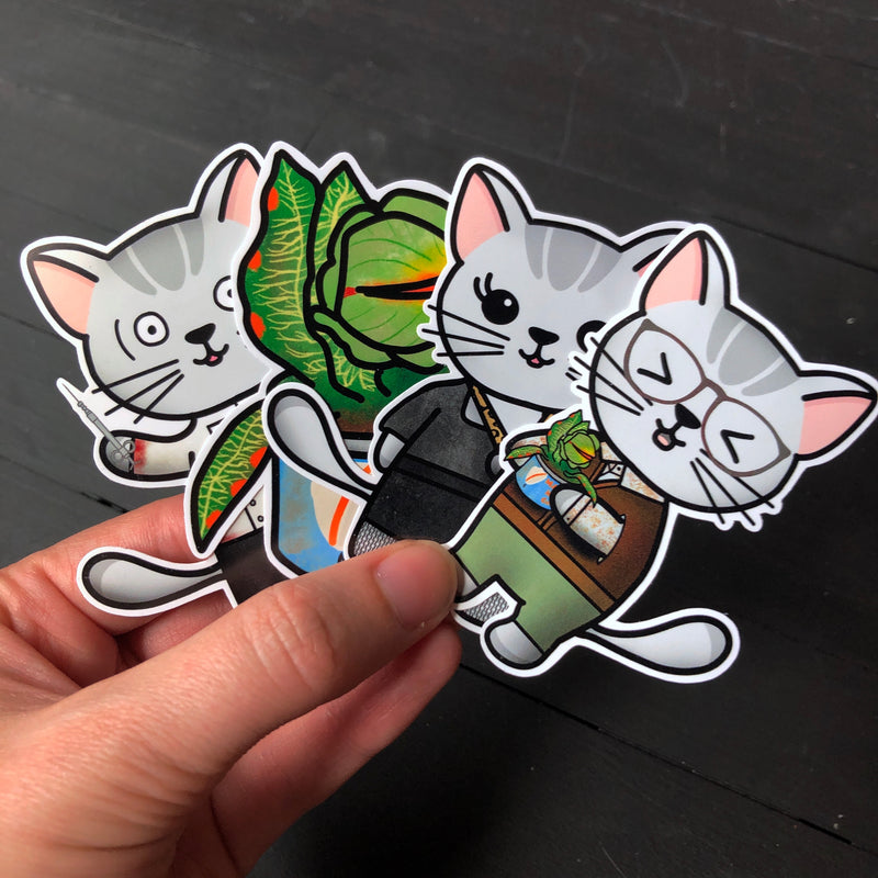 Little Shop of Mabel // Die Cut Sticker Pack