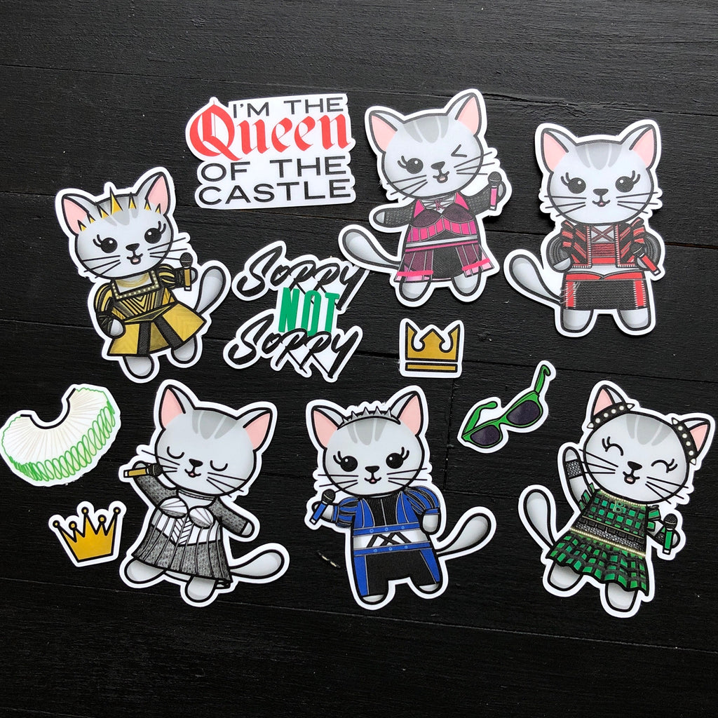 Six // Vinyl Sticker Pack