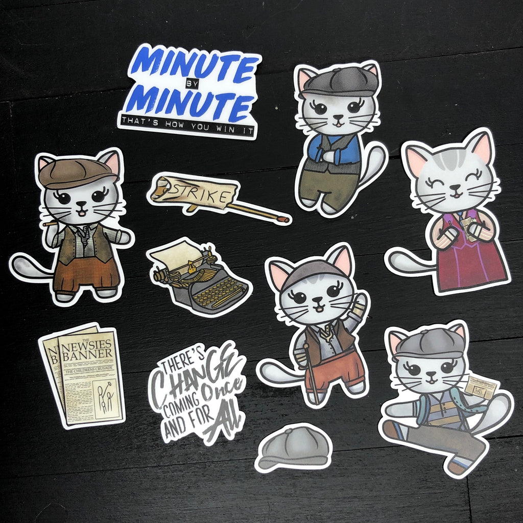 Meow-sies // Vinyl Sticker Pack