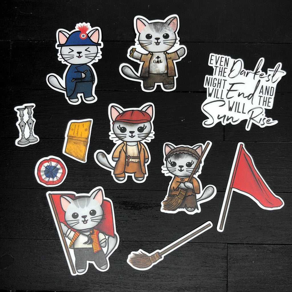 Les Miserables // Vinyl Sticker Pack