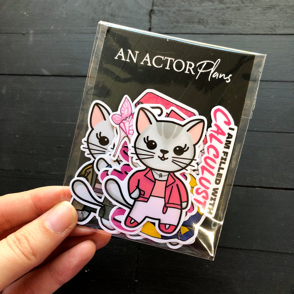 Mean Kittens // Vinyl Sticker Pack