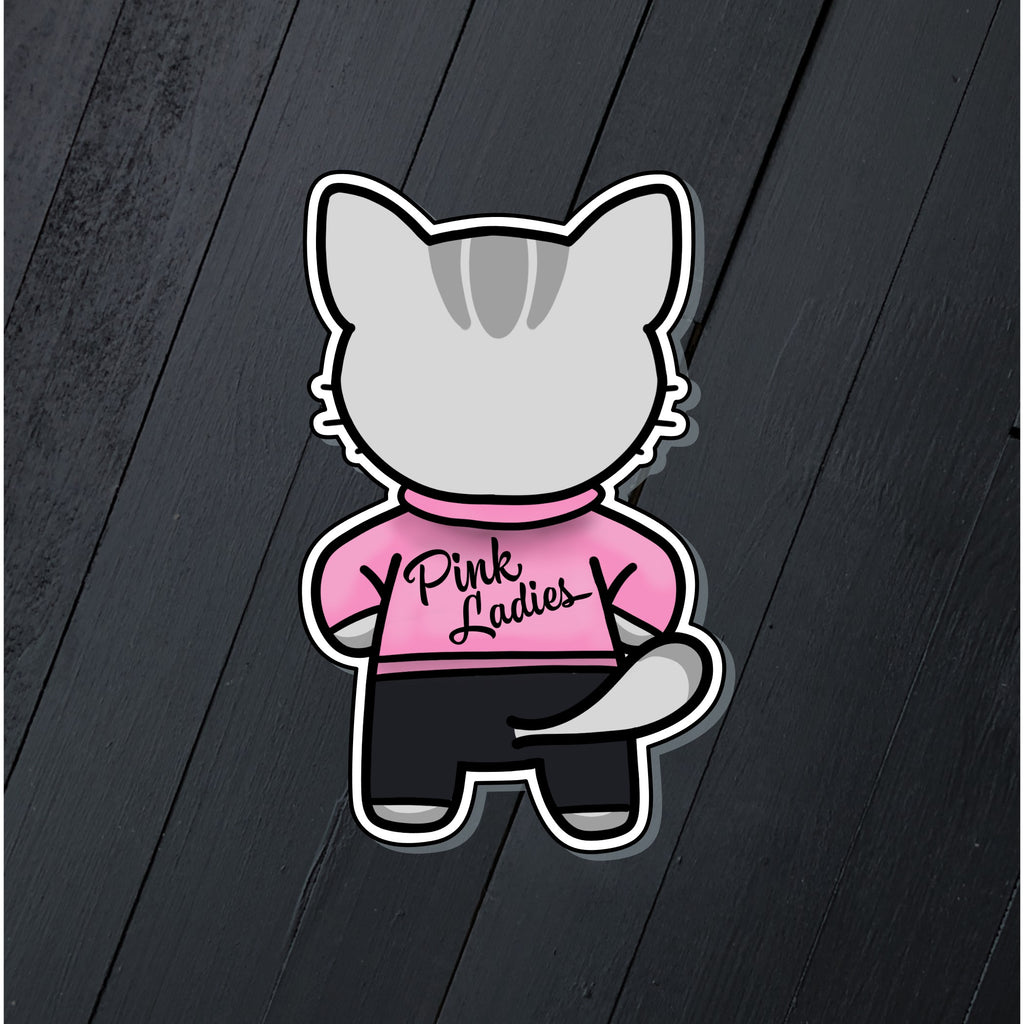 Pink Ladies // Mabel // Die Cut Sticker