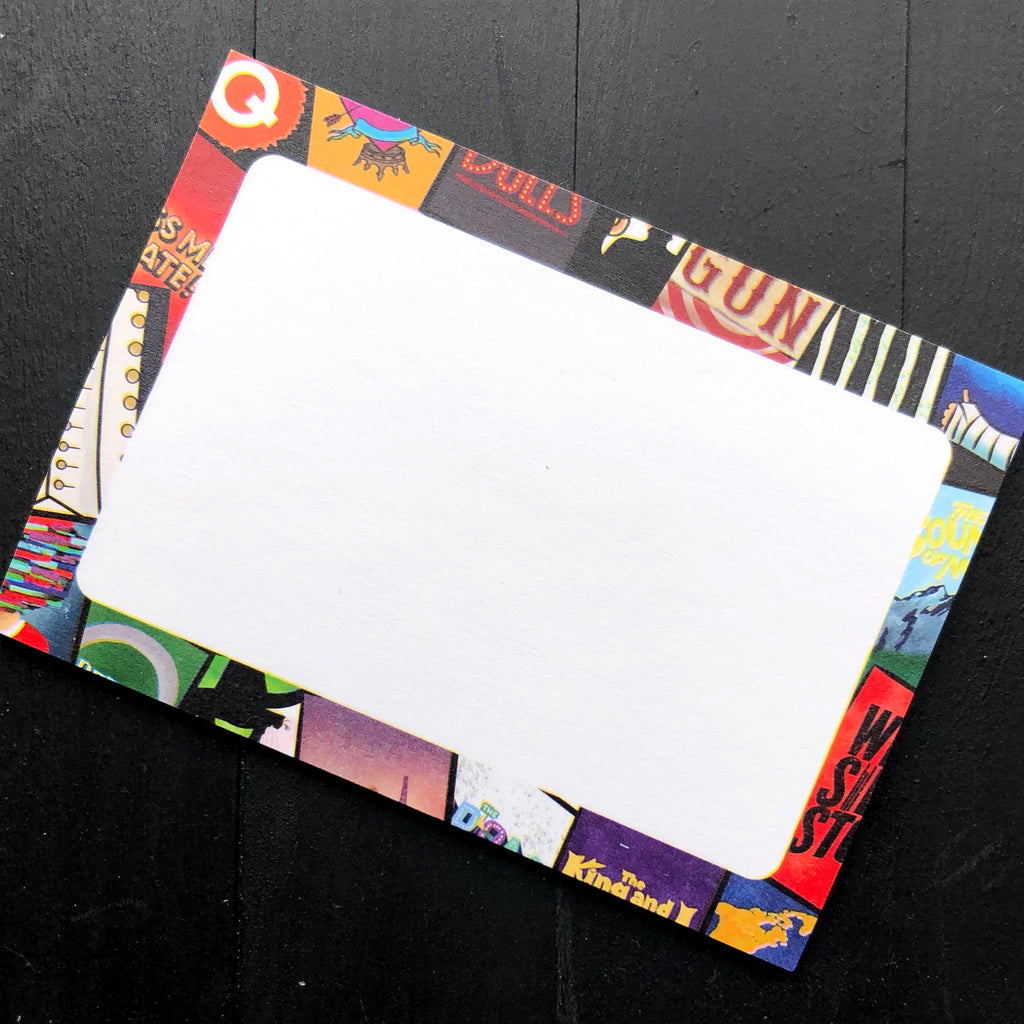 Broadway Sticky Notes