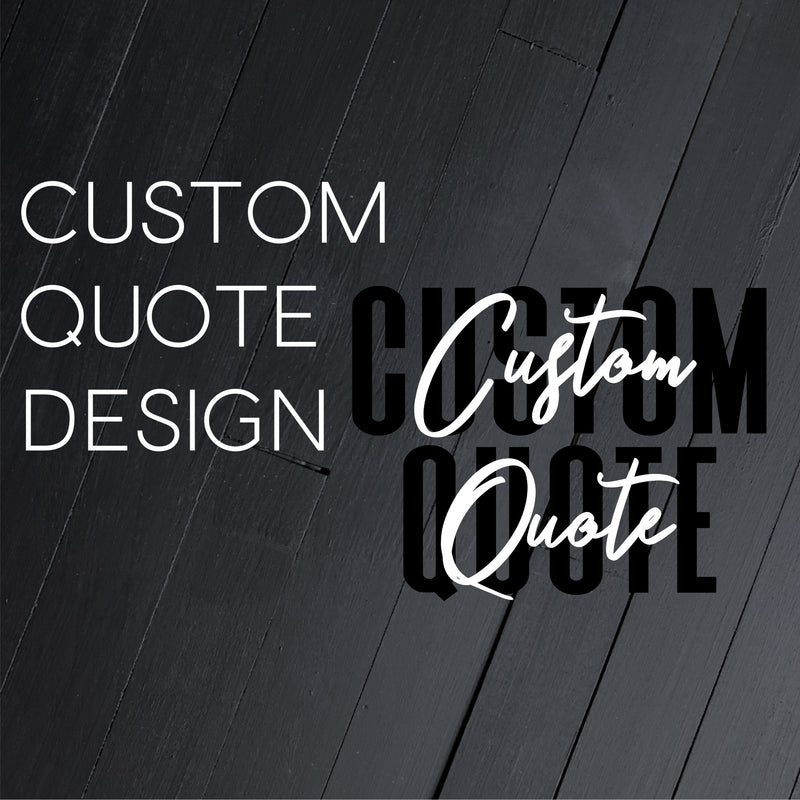 Custom Quote Design // Broadway or Theatre Related