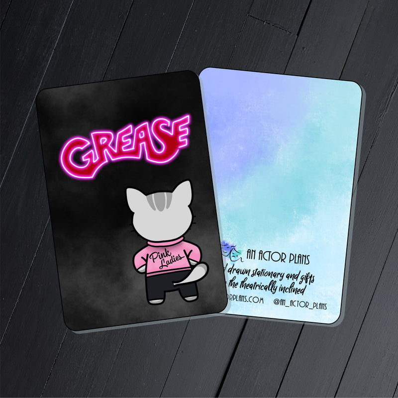 Grease // Collectible Card
