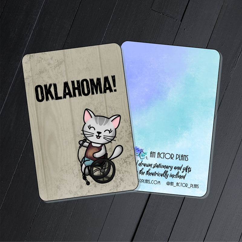 Oklahoma! // Mabel // Collectible Card