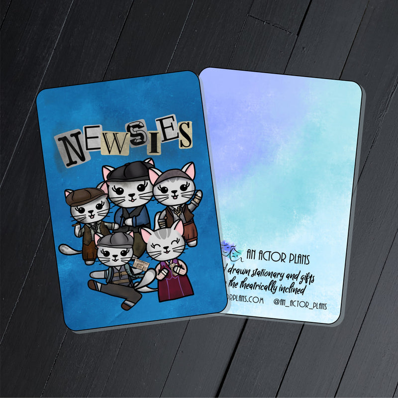Paw-sies // Collectible Card
