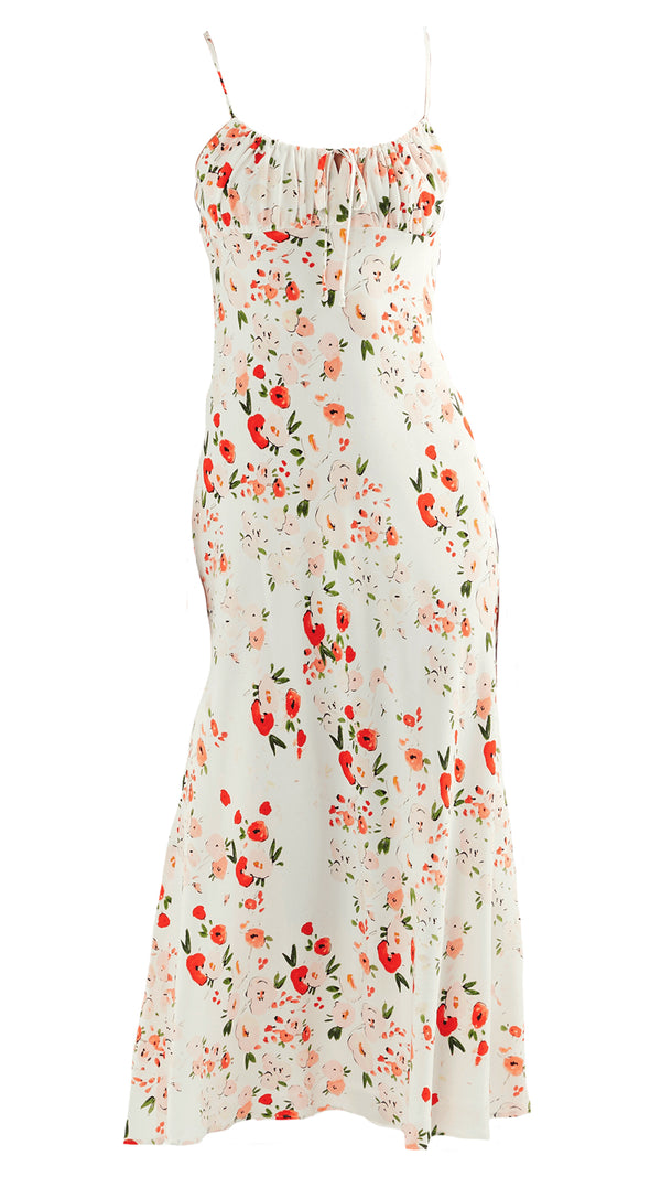 Bec & Bridge Tilly Midi Dress Watercolour Floral