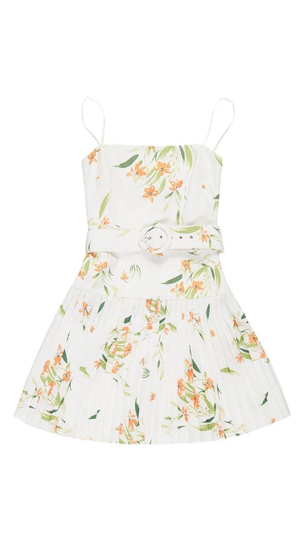 By Johnny White Jungle Tennis Dress