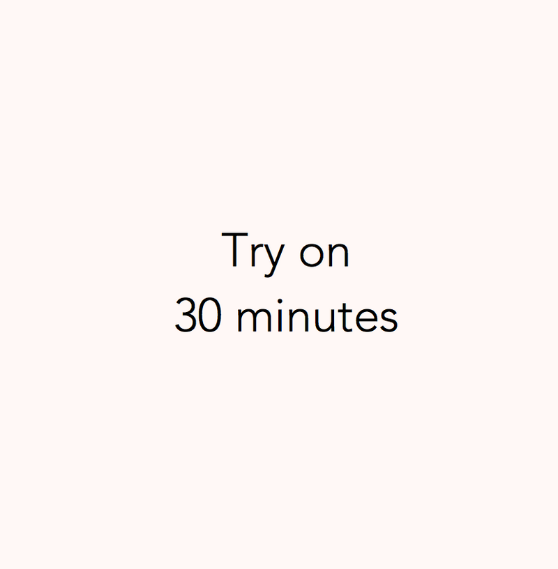 Book a Try On - 30 minutes