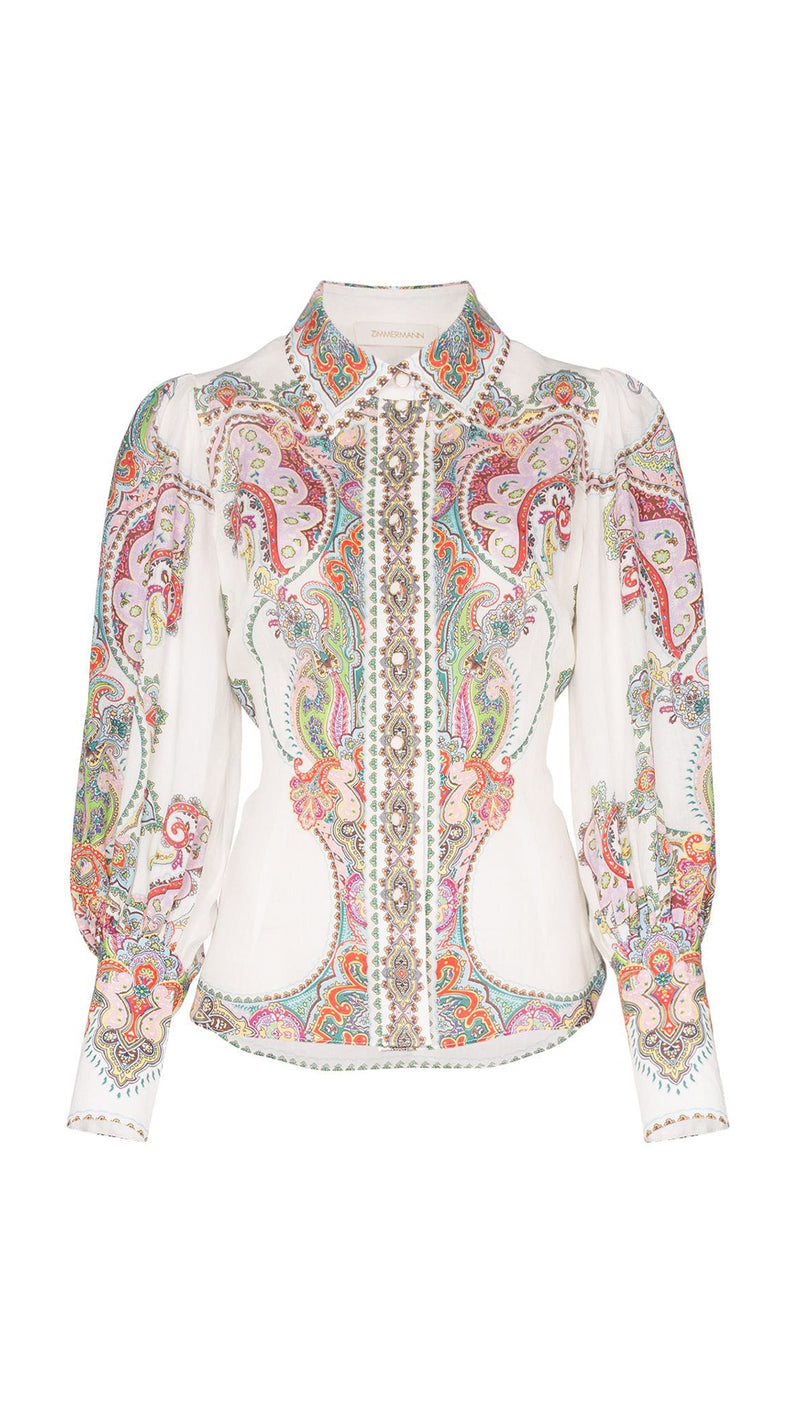 Zimmermann Ninety-Six Filigree Shirt