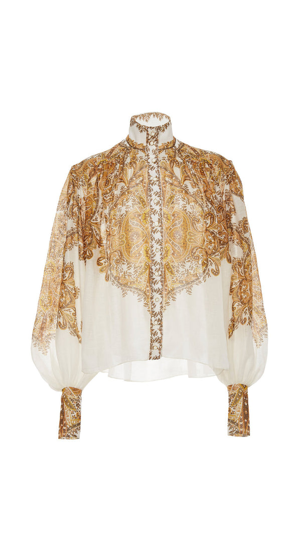 Zimmermann Zippy Billow Blouse