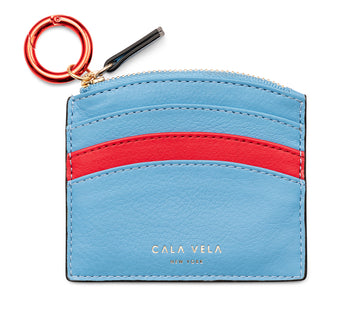 SUNRISE ZIP CARD HOLDER - OCEAN - CALA VELA