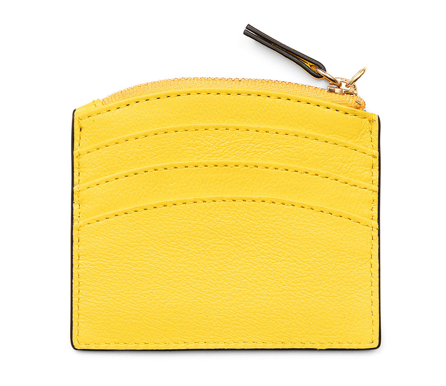 SUNRISE ZIP CARD HOLDER - SUNSHINE - CALA VELA