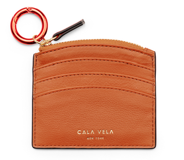 SUNRISE ZIP CARD HOLDER -SAND - CALA VELA