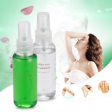 2 pc Hair Removal Treatment Spray