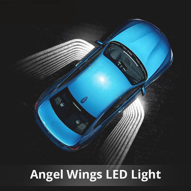 Car LED Laser Door Shadow Light Angel Wing