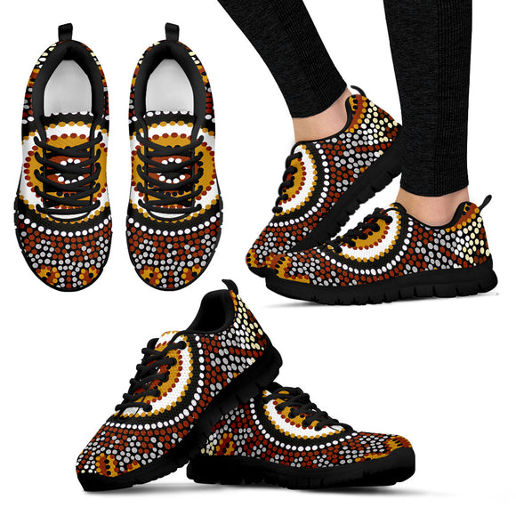 Unique Aboriginal Design Shoes