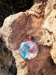 Abstract Art  - Pendant Necklace