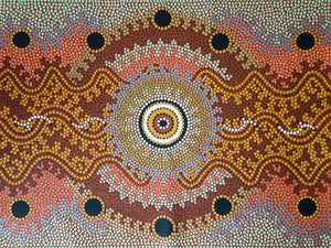 Traditional Aboriginal Art - Dot Painting