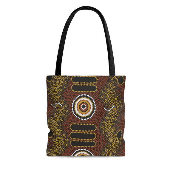 Aboriginal Art Designed  Tote Bag
