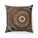 Aboriginal Art Designed  Square Pillow