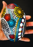 Painted Emu Egg