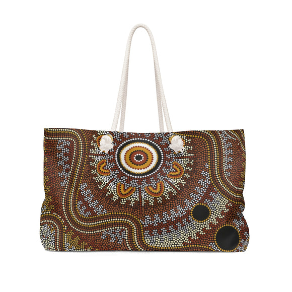 Aboriginal Design Weekender Bag