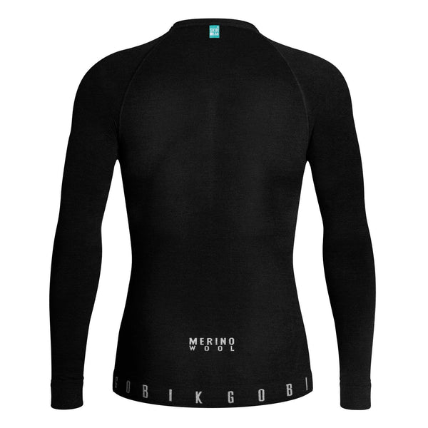 CAMISETA HOMBRE MANGA LARGA WINTER MERINO BASELAYER - Velo boutique Gobik Chile