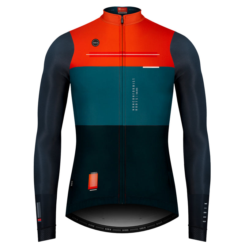 MAILLOT HOMBRE MANGA LARGA SUPERCOBBLE MARSHALL - veloboutiquecl